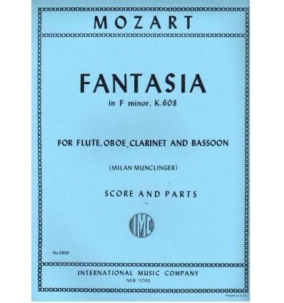 Fantasia K608 (fl, ob, cl, bn)