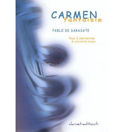 Carmen Fantaisie (4 clarinettes) sur des motifs de...