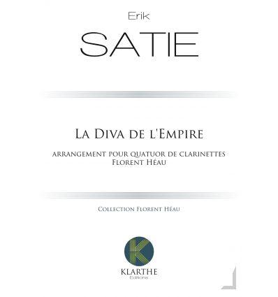 La Diva de l'Empire (1904), arr. quatuor de clarin...