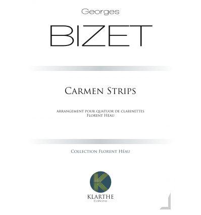 Carmen strips (version 4 cl.:3sib & basse). Extrai...