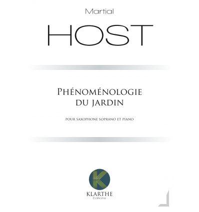 Phénoménologie du jardin, version sax soprano et p...