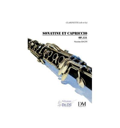 Sonatine et Capriccio (version cl. sib + cl. en la...