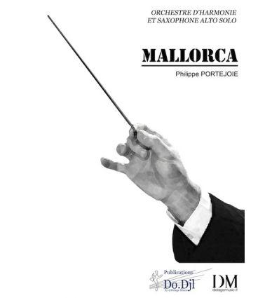 Mallorca (sax alto solo & harmonie = Alto sax solo...