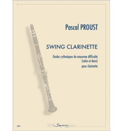 Swing clarinette, études rythmiques de moyenne dif...
