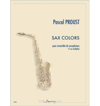 Sax colors (ens. de 7 sax ou multiples): S-A1-A2-A...