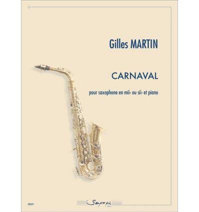Carnaval (sax soprano ou ténor & piano) 1er cycle ...
