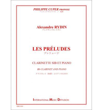 Les Préludes (clarinette et piano) collection Phil...