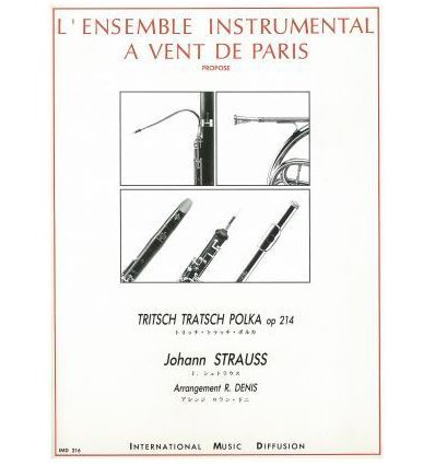 Tritsch-Tratsch Polka (quintette à vent)