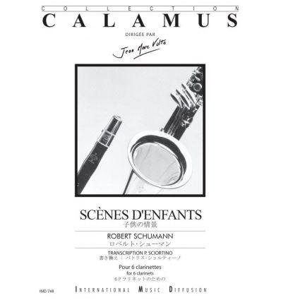 Scènes d'enfants (6 clarinettes, coll. J.M. Volta)