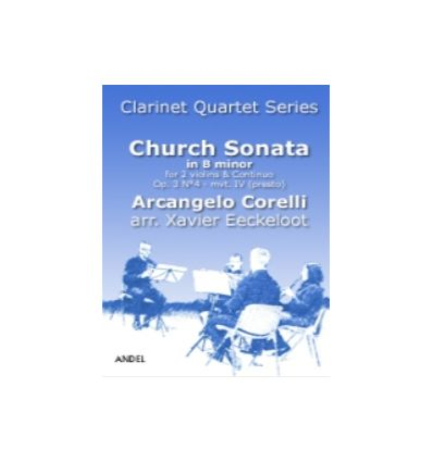 Sonata da chiesa in B minor, Presto op.3N°4 arr. 4...