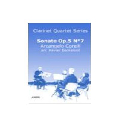 Sonate Op.5 N°7 (arr. quatuor de clarinettes)