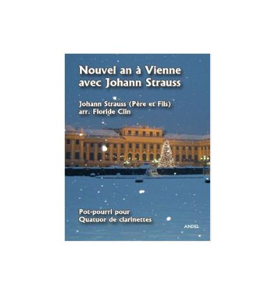Nouvel An à Vienne, arr. quatuor de clarinettes (3...
