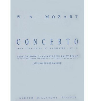 Concerto Kv622 - Version Pour Clarinette En La Et Piano
