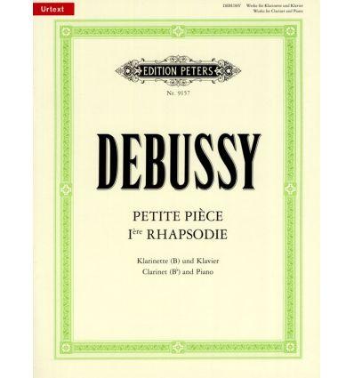 Works : Rhapsody, Petite Piece (URTEXT Peters) = R...