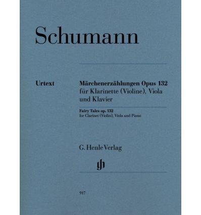 Marchenerzahlungen op.132 clar(vln), alto, piano. ...