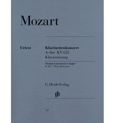 Concerto for clarinet KV622 (red. clar & piano J. ...