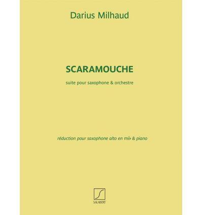 Scaramouche NEW EDITION alto sax and piano with co...