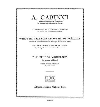 26 Cadences en forme de préludes
