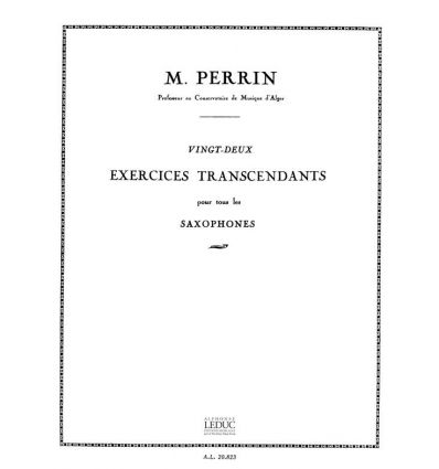 22 Exercices transcendants