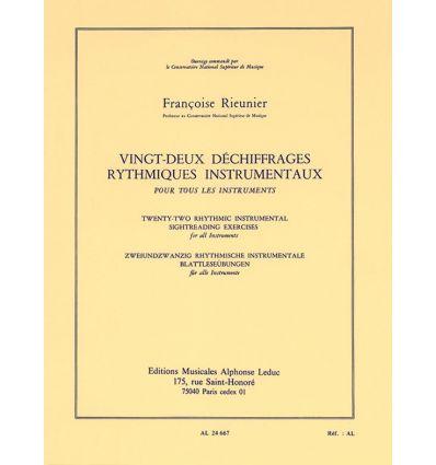 22 Déchiffrages instrumentaux pour tous instr... P...