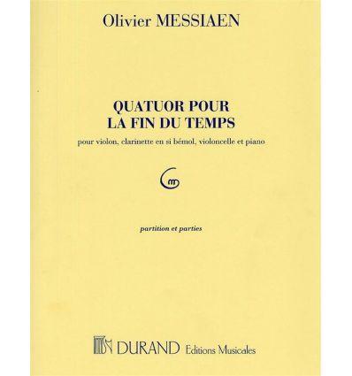 Quatuor pour la fin du temps : Score et Parties cl...