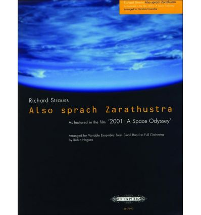 Zarathustra (ens. variable : 4 sax SATB, fl hb cl ...
