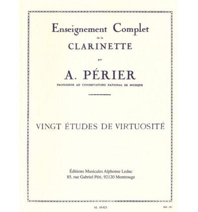 20 études de virtuosité