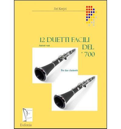 12 Duetti facili del '700