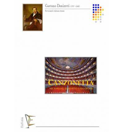Canzonetta Or che la notte (soprano, clarinette et...