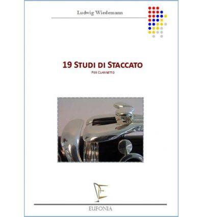 19 Studi di staccato per clarinetto
