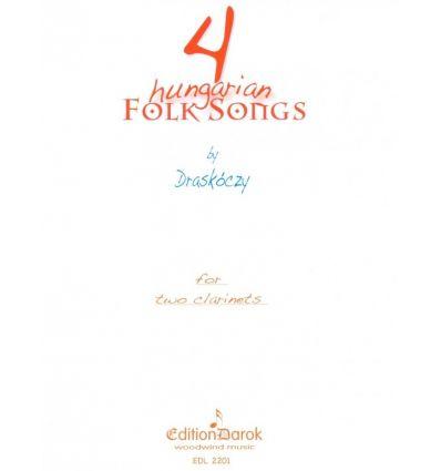 4 hungarian folk songs