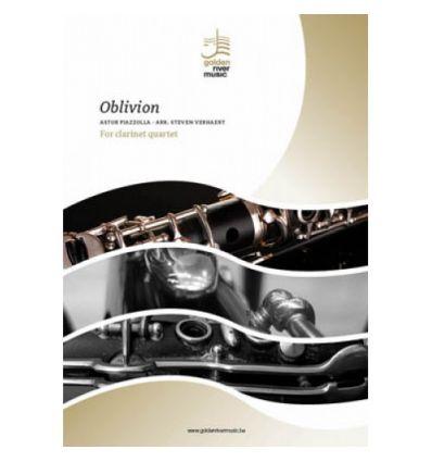 Oblivion(clar. quartet) 2Bb, alto, bass clar.