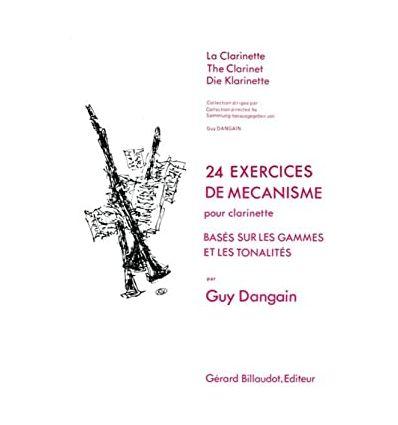 24 Exercices de mécanisme