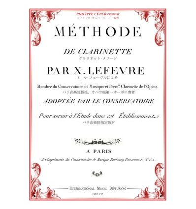 Méthode de clarinette
