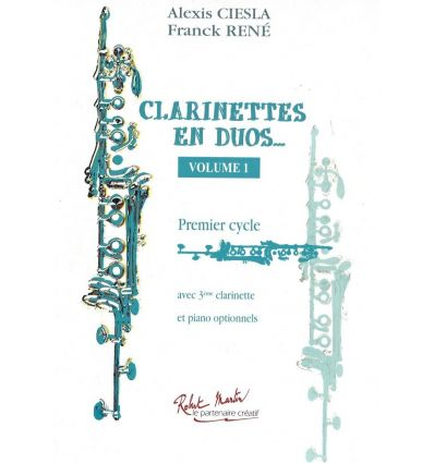Clarinettes en duos... Vol.1