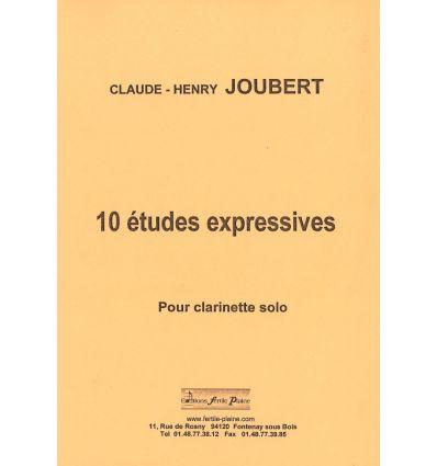 10 études expressives