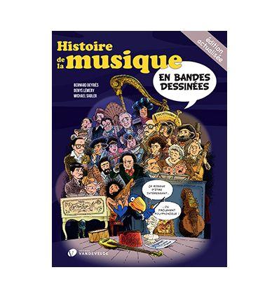 Histoire de la musique en bandes dessinées