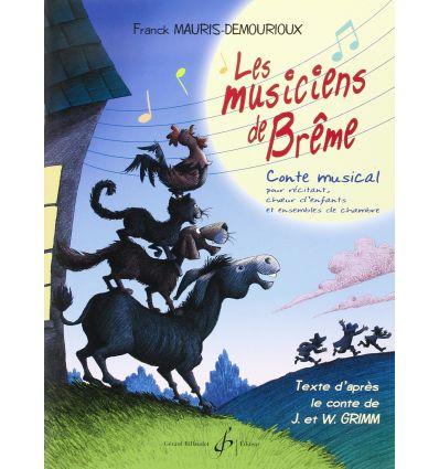 Les Musiciens de Brême - Livre CD