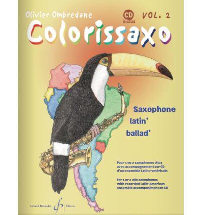 Colorissaxo Vol.2, avec CD