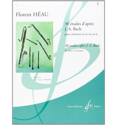 Trente études d'après J.S. Bach Vol2