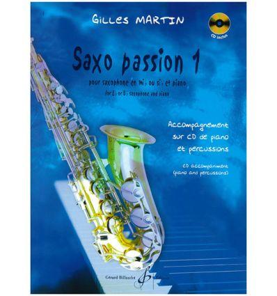 Saxo Passion Vol1 avec CD