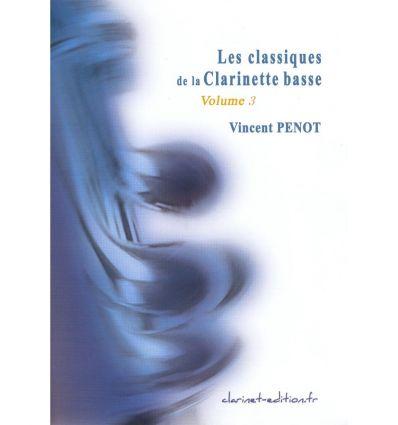Les Classiques de la clarinette basse Vol.3