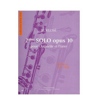 2ème Solo (clarinette et piano) FFEM 2011: niveau CFEM, morceau au choix.