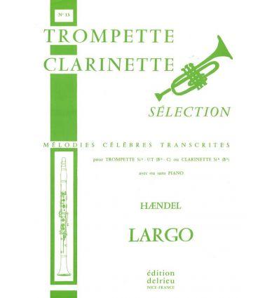 Largo (Xerxes) Cl ou sax sop et piano ou orgue