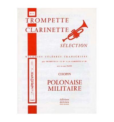 Polonaise militaire (Cl ou sax sop et piano)