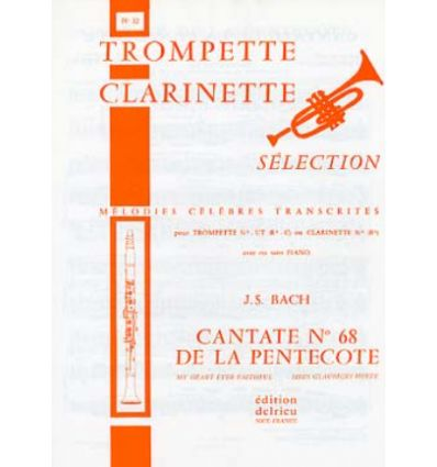 Cantate de la pentecote n°68 (Cl/Sax sop & orgue/piano)