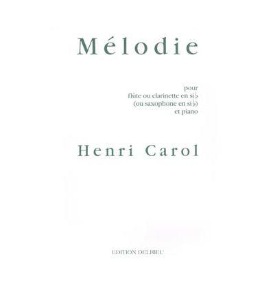 Melodie (Cl sib ou sax sib & piano)