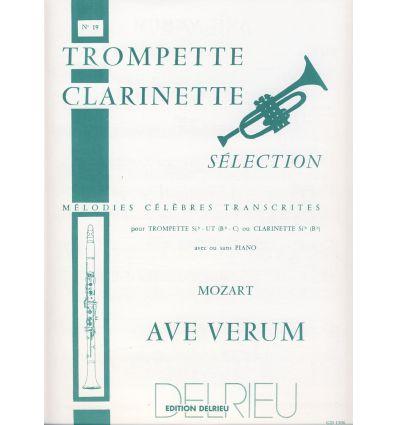 Ave verum (Cl ou sax sop & orgue ou piano)