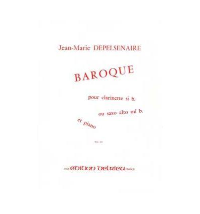 Baroque (Cl sib ou sax mib & piano)