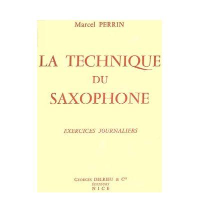 Technique du saxophone, publ. 1957
